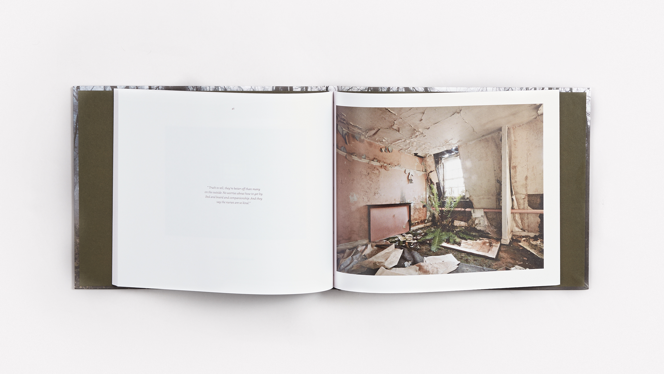 Alex Telfer Book Spread