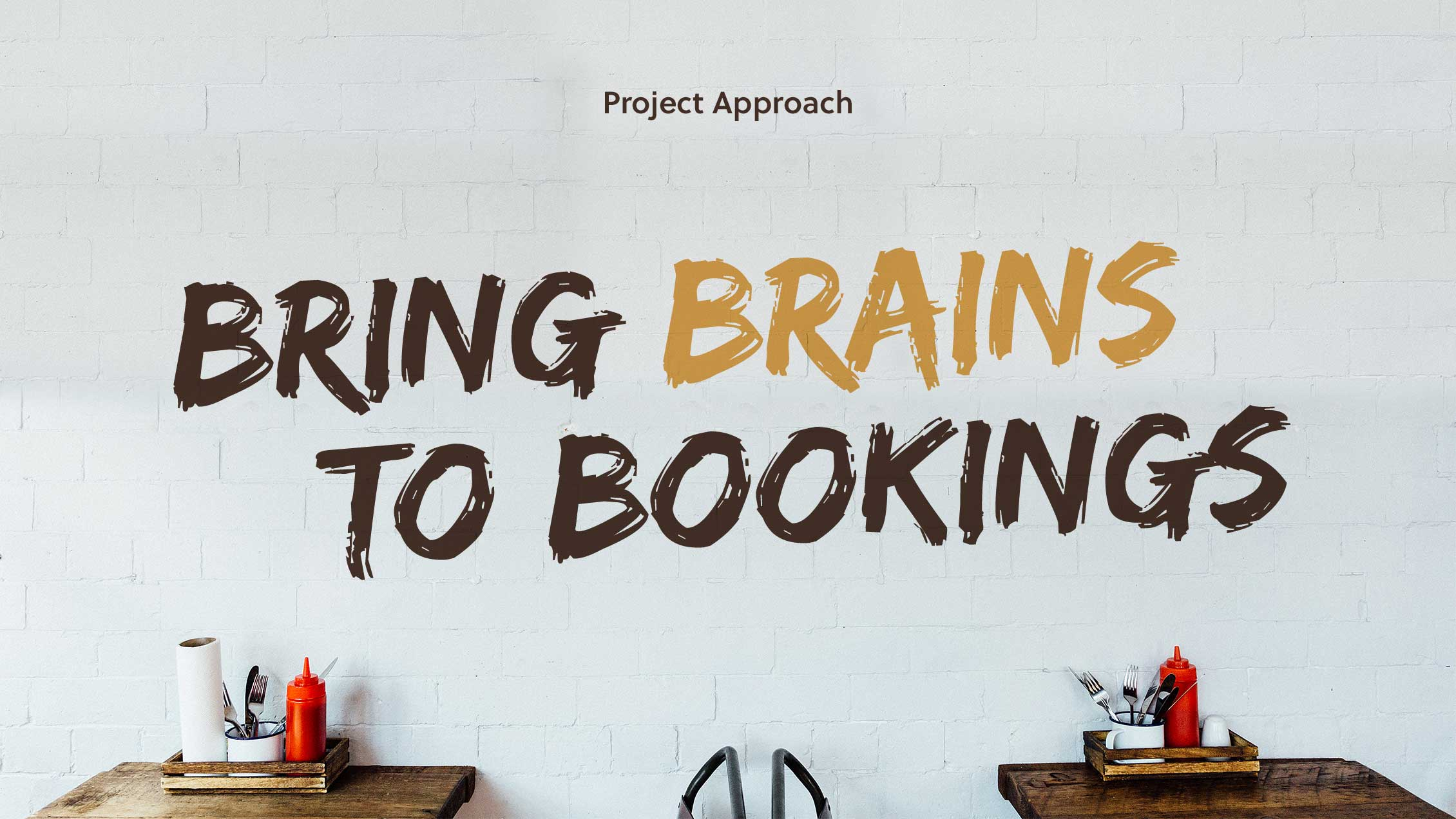 Fat Hippo Booking System Project Approach: 'Bring Brains to Bookings'